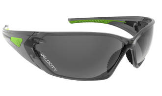 Velocity Smoke Lens Safety Specs Anti-fog & Scratch/UV