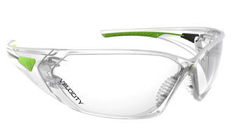 Velocity Clear Lens Safety Specs Anti-fog & Scratch/UV