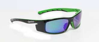Panther Safety Specs Green Flash Mirror
