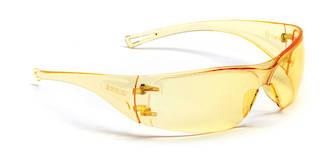 Econospec Amber Safety Specs Anti-fog & Scratch/UV