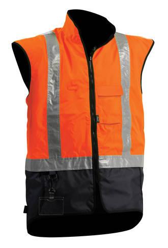 V17 Hi Viz Fleece Safety Vest S-8XL