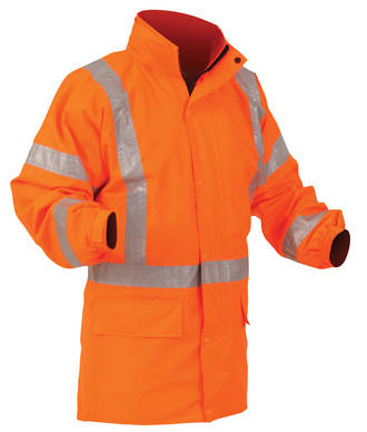 46NPLJKT Bison Stamina Safety Jacket S-8XL