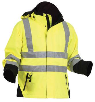 47HLJKT Sherpa Safety Jacket S-8XL
