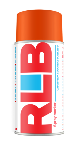 Aerosol RLB Invert Orange 400ml