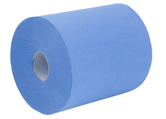 Paper Towel Pacific Centrefeed Blue 1 Ply 22cmx300m Ctn of 6