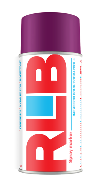 Aerosol RLB Purple 400ml