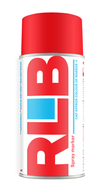 Aerosol RLB Red 400ml