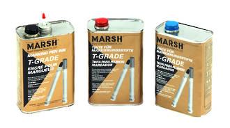 Marsh Ink T Grade Red 946ml