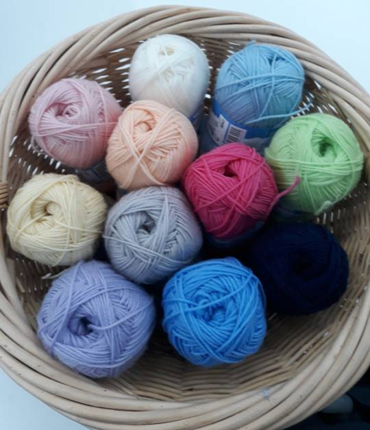 C/W Lullaby 4 Ply Merino  Yarn