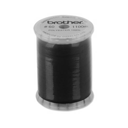 60# Black Bobbin Thread