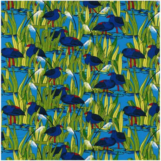 Wetland Pukeko Fat Quarter