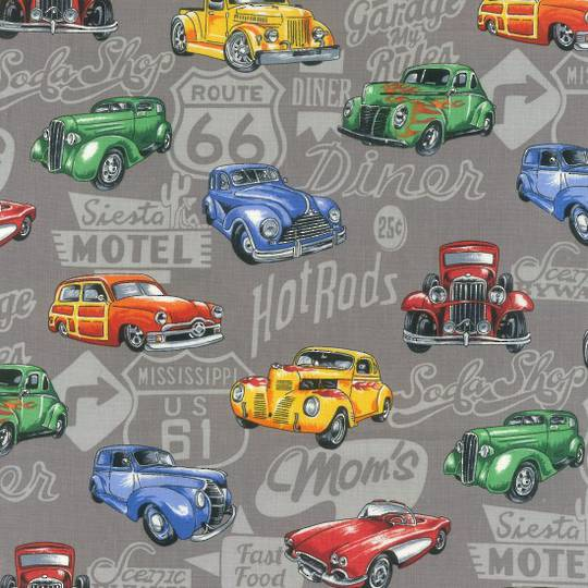 Hot Rods Grey
