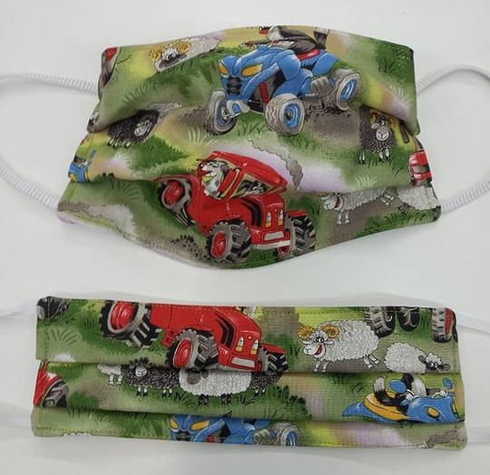 Field Days Fabric Facemask