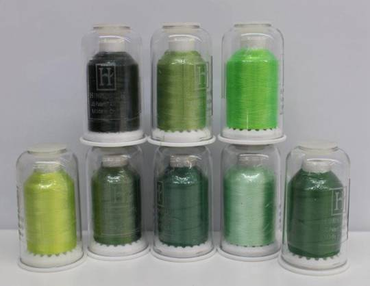 Hemingworth Thread Green Shades