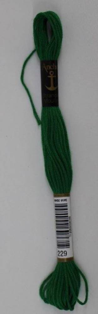 Stranded Cotton Cross Stitch Threads - Green Shades