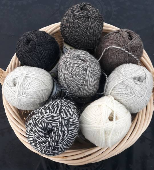 C/W Natural Wool Yarns