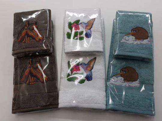 Handtowel Face Cloth Set