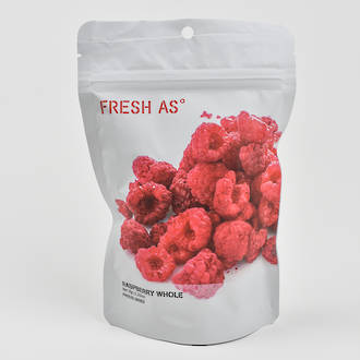Fresh As Freeze Dried Raspberry