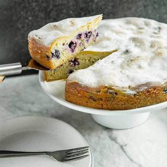 Blueberry Mascarpone Torte