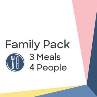 Family Pack - Hearty Meals