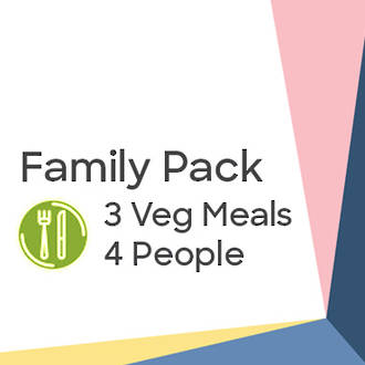 Family Pack - Vegetarian Hearty Meals