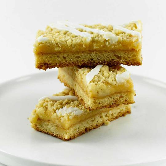 Lemon Crumble Slice