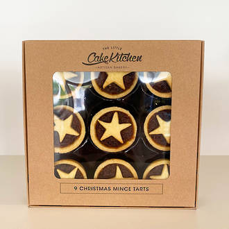 Little Cake Kitchen Christmas Mince Tarts - 9 Pack
