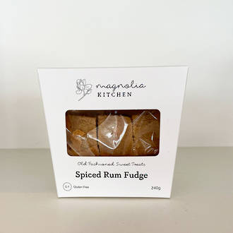 Magnolia Kitchen Spiced Rum Fudge
