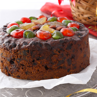 "7"" Traditional Christmas Cake in a Box"