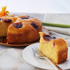 Low-Dairy & Low-Gluten Plum & Orange Cake