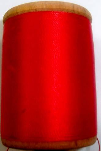 400 YD. spool of Gudebrod wrapping thread solid Red - $4.99 ea.