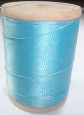 400 YD. spool of Gudebrod Rod Wrapping Thread solid Light Blue - $4.99 ea.
