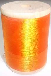 400 YD. spool of Gudebrod Rod Wrapping Thread solid Orange - $4.99 ea.