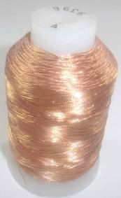 Small spools of Gudebrod metallic thread - Bronze - $17.95 ea.
