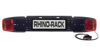 Rhino-Rack RBCA011 Number Plate Holder