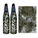 Ruku Composite Blades Ellipse Black Camo