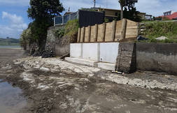 Boat Ramp and Sea Wall Repairs  $627,000 (complete)