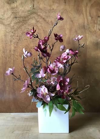 Gorgeous Orchid SILK Arrangement