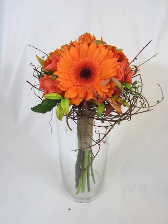 Bridal Bouquet: Orange