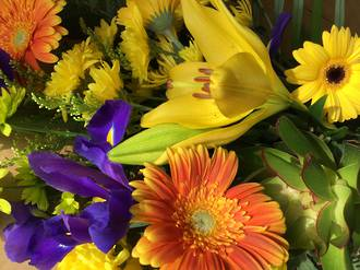 Florists choice - Beautiful and bright
