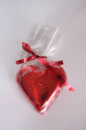 Red Chocolate Heart