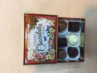 Luxury Chocolates Tin