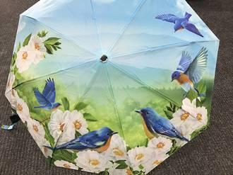 Blue Birds Umbrella