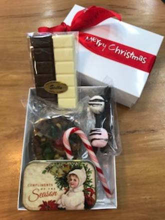 White Xmas Gift box
