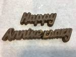 Happy Anniversary Chocolate message