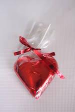 Red Chocolate Heart