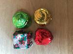 Foiled Christmas Loose Chocolates