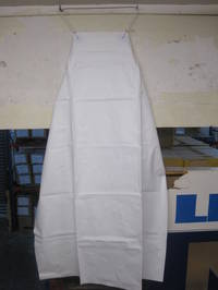 PVC WHITE APRON