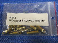 H/D BRASS SWIVEL - 7MM