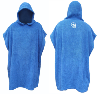 Grom Hooded Poncho Towel - Curve